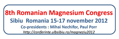 8th Romanian Magnesium Congress